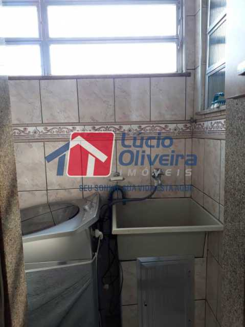 10 area de serviço 2 - Apartamento à venda Rua Vaz Lobo,Vaz Lobo, Rio de Janeiro - R$ 170.000 - VPAP21116 - 13