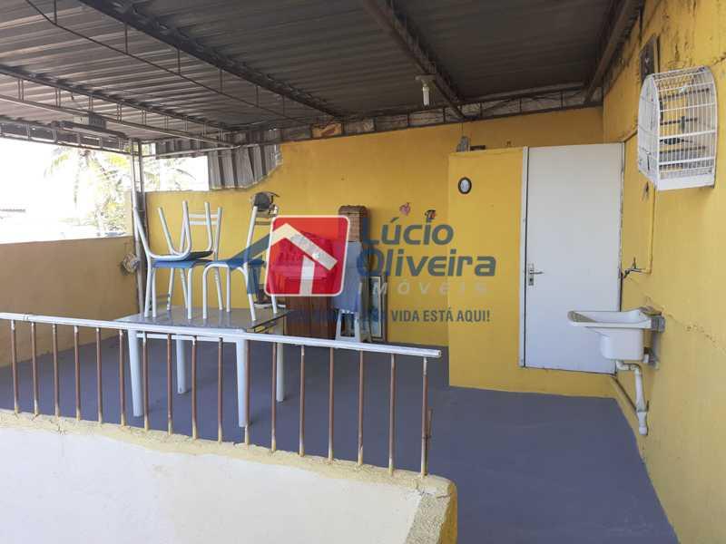 13 TERRAÇO DA GARAGEM - Casa à venda Rua Breves,Vista Alegre, Rio de Janeiro - R$ 590.000 - VPCA30142 - 17