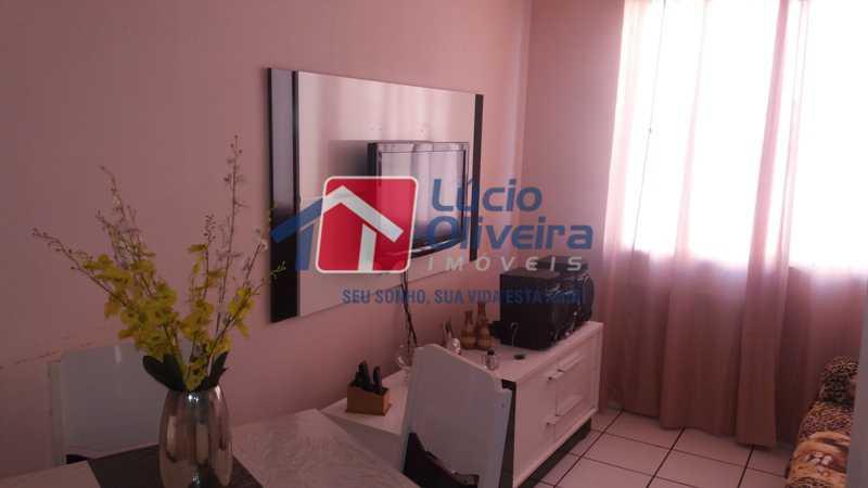 1 SALA - Apartamento À Venda - Vaz Lobo - Rio de Janeiro - RJ - VPAP21122 - 1