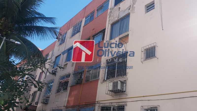 9 FACHADA - Apartamento À Venda - Vaz Lobo - Rio de Janeiro - RJ - VPAP21122 - 12