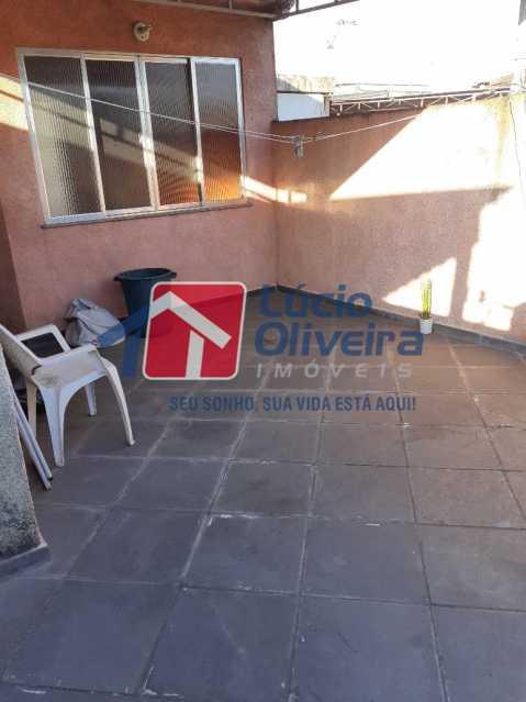 VARANDA SEGUNDO ANDAR - Casa À Venda - Cordovil - Rio de Janeiro - RJ - VPCA20211 - 18