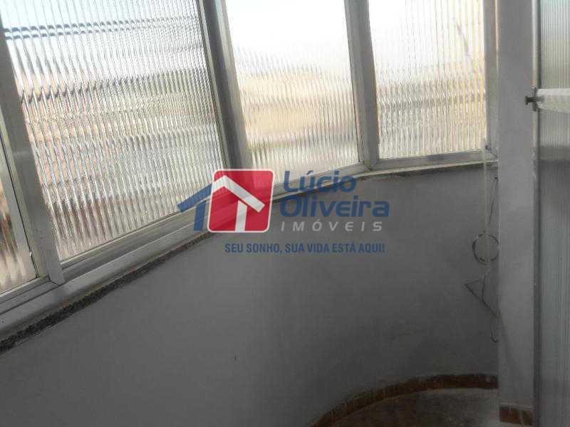 7-Varanda - Apartamento Avenida Braz de Pina,Vila da Penha,Rio de Janeiro,RJ À Venda,2 Quartos,70m² - VPAP21125 - 8