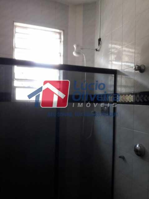 18-Banheiro social blindex - Apartamento Avenida Braz de Pina,Vila da Penha,Rio de Janeiro,RJ À Venda,2 Quartos,70m² - VPAP21125 - 18