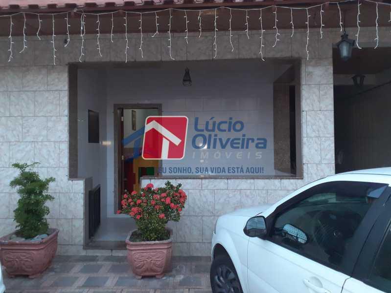 1 FRENTE - Casa 3 quartos à venda Braz de Pina, Rio de Janeiro - R$ 650.000 - VPCA30145 - 8