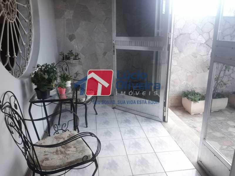 23-varanda frente - Casa Rua Antônio Storino,Vila da Penha,Rio de Janeiro,RJ À Venda,5 Quartos,171m² - VPCA50018 - 26