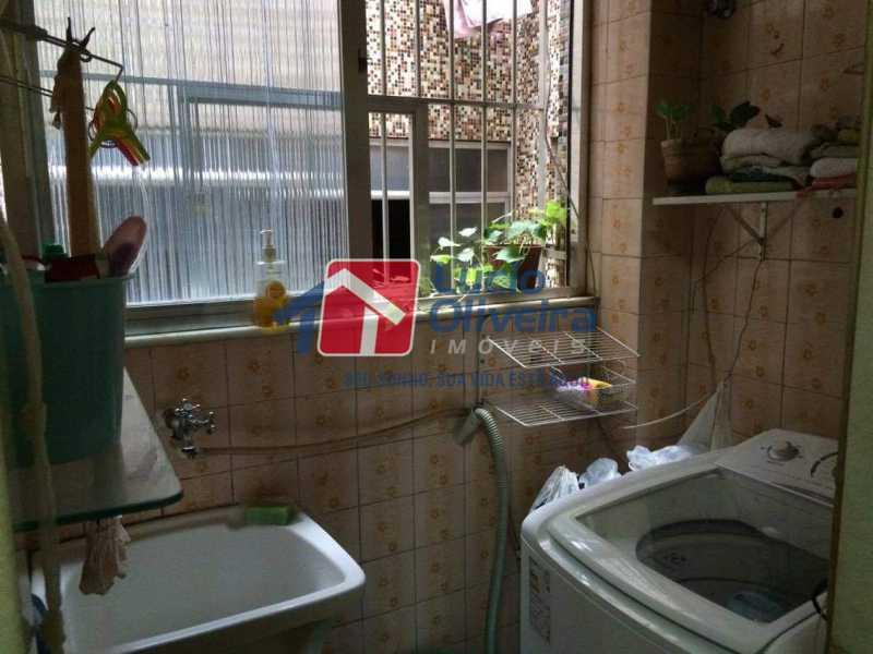 11 - Área - Apartamento À Venda - Vista Alegre - Rio de Janeiro - RJ - VPAP21126 - 12