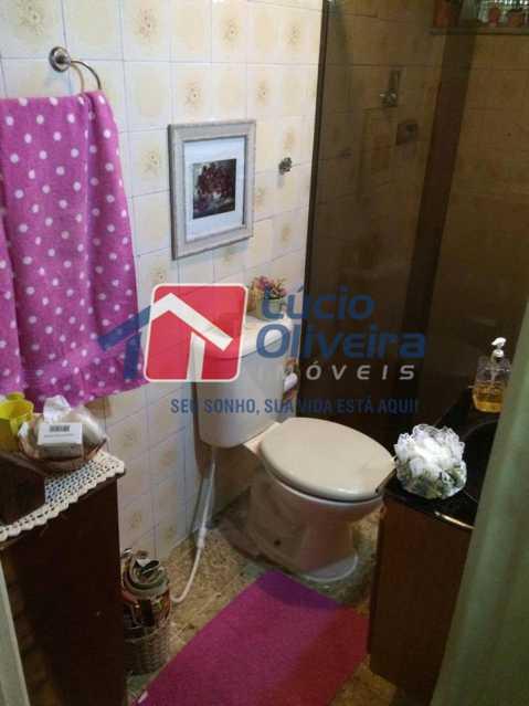 12 - Banheiro - Apartamento À Venda - Vista Alegre - Rio de Janeiro - RJ - VPAP21126 - 13