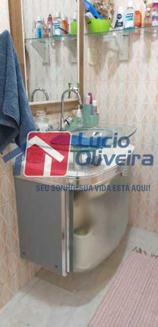13-Banheiro social. - Apartamento À Venda - Vila da Penha - Rio de Janeiro - RJ - VPAP30265 - 14