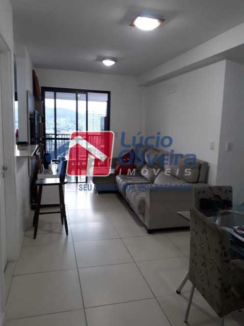 1 SALA - Apartamento à venda Avenida Oliveira Belo,Vila da Penha, Rio de Janeiro - R$ 490.000 - VPAP30266 - 1