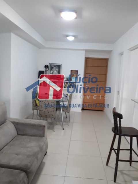 2 SALA - Apartamento à venda Avenida Oliveira Belo,Vila da Penha, Rio de Janeiro - R$ 490.000 - VPAP30266 - 3