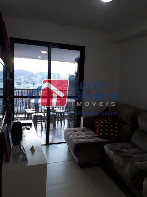 3 SALA - Apartamento à venda Avenida Oliveira Belo,Vila da Penha, Rio de Janeiro - R$ 490.000 - VPAP30266 - 4