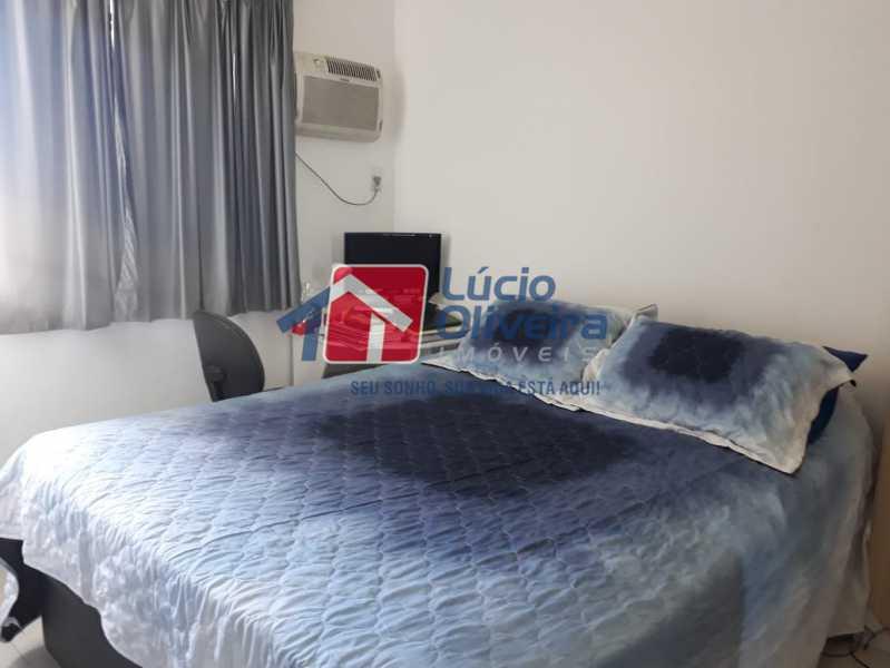 5 QUARTO - Apartamento à venda Avenida Oliveira Belo,Vila da Penha, Rio de Janeiro - R$ 490.000 - VPAP30266 - 6