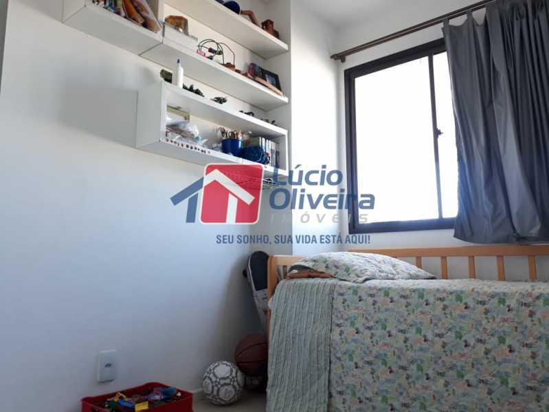 9 QUARTO - Apartamento à venda Avenida Oliveira Belo,Vila da Penha, Rio de Janeiro - R$ 490.000 - VPAP30266 - 10