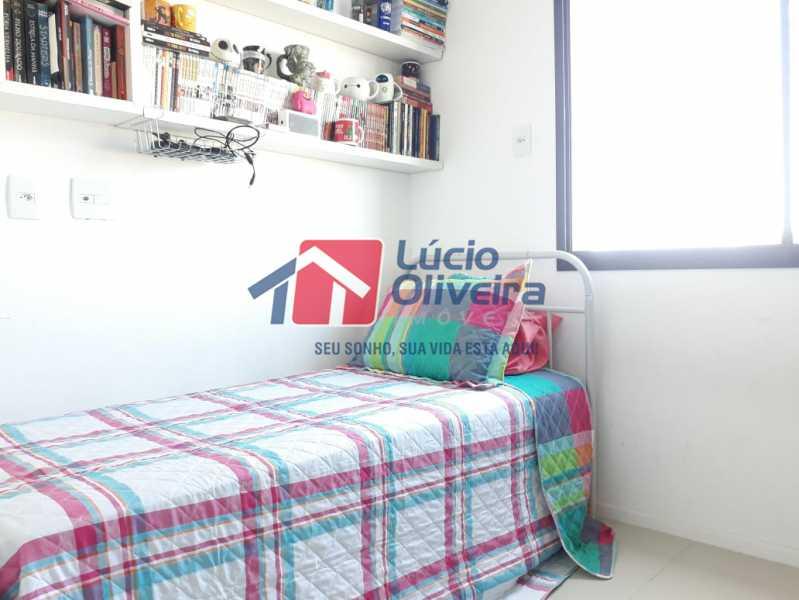 11 QUARTO - Apartamento à venda Avenida Oliveira Belo,Vila da Penha, Rio de Janeiro - R$ 490.000 - VPAP30266 - 12