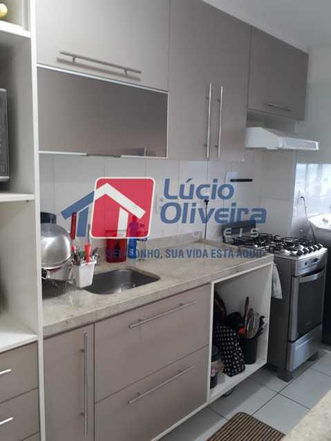 12COZINHA - Apartamento à venda Avenida Oliveira Belo,Vila da Penha, Rio de Janeiro - R$ 490.000 - VPAP30266 - 13