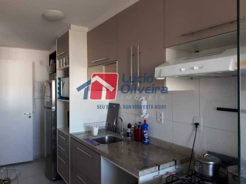 14 COZINHA - Apartamento à venda Avenida Oliveira Belo,Vila da Penha, Rio de Janeiro - R$ 490.000 - VPAP30266 - 15