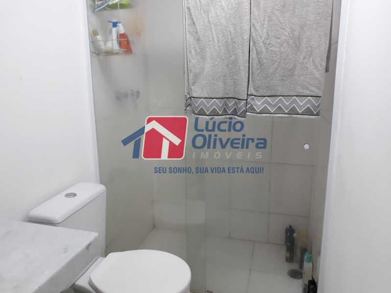 15 BANHEIRO - Apartamento à venda Avenida Oliveira Belo,Vila da Penha, Rio de Janeiro - R$ 490.000 - VPAP30266 - 16