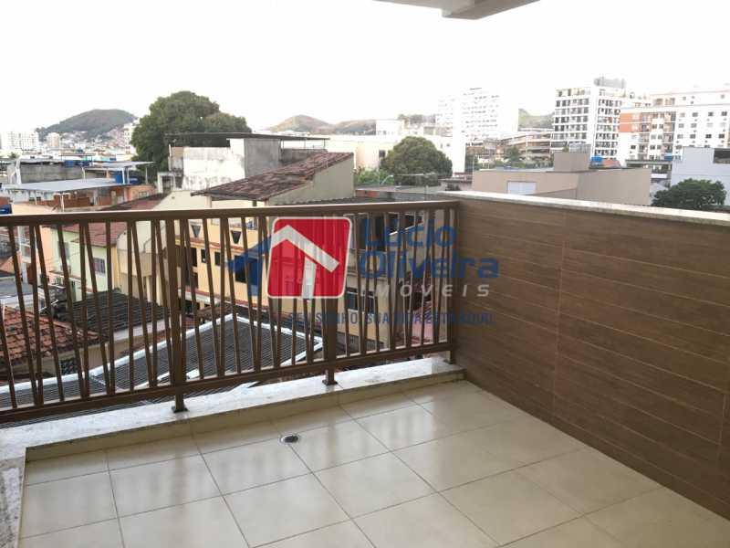 20 VARANDA - Apartamento à venda Avenida Oliveira Belo,Vila da Penha, Rio de Janeiro - R$ 490.000 - VPAP30266 - 21