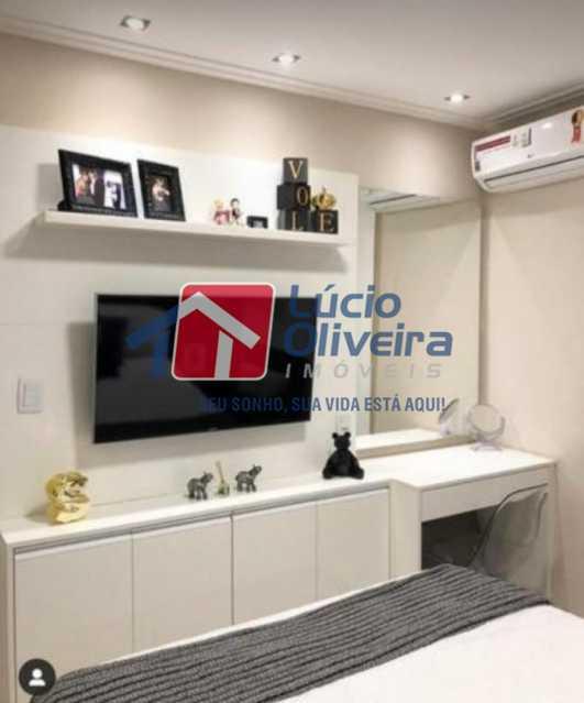 08 - Quarto Solteiro - Casa À Venda - Vila da Penha - Rio de Janeiro - RJ - VPCA40046 - 9