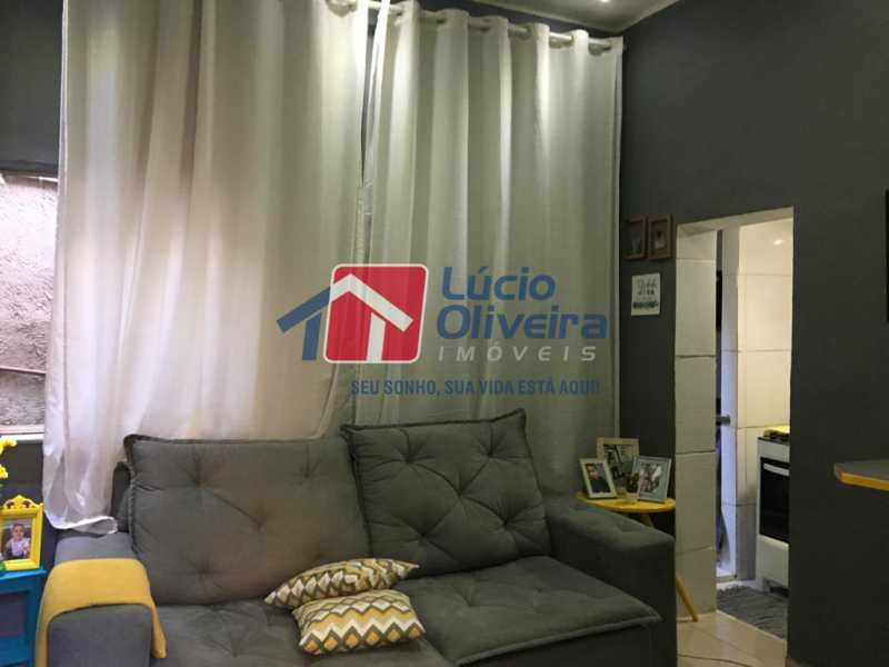 1 sala - Casa de Vila Olaria, Rio de Janeiro, RJ À Venda, 1 Quarto, 45m² - VPCV10028 - 1