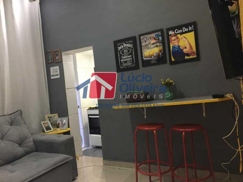 2 sala - Casa de Vila Olaria, Rio de Janeiro, RJ À Venda, 1 Quarto, 45m² - VPCV10028 - 3
