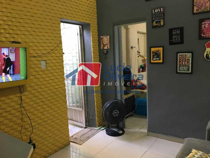 4 sala - Casa de Vila Olaria, Rio de Janeiro, RJ À Venda, 1 Quarto, 45m² - VPCV10028 - 5