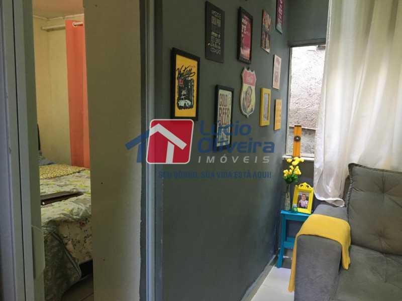 7 hall - Casa de Vila Olaria, Rio de Janeiro, RJ À Venda, 1 Quarto, 45m² - VPCV10028 - 8