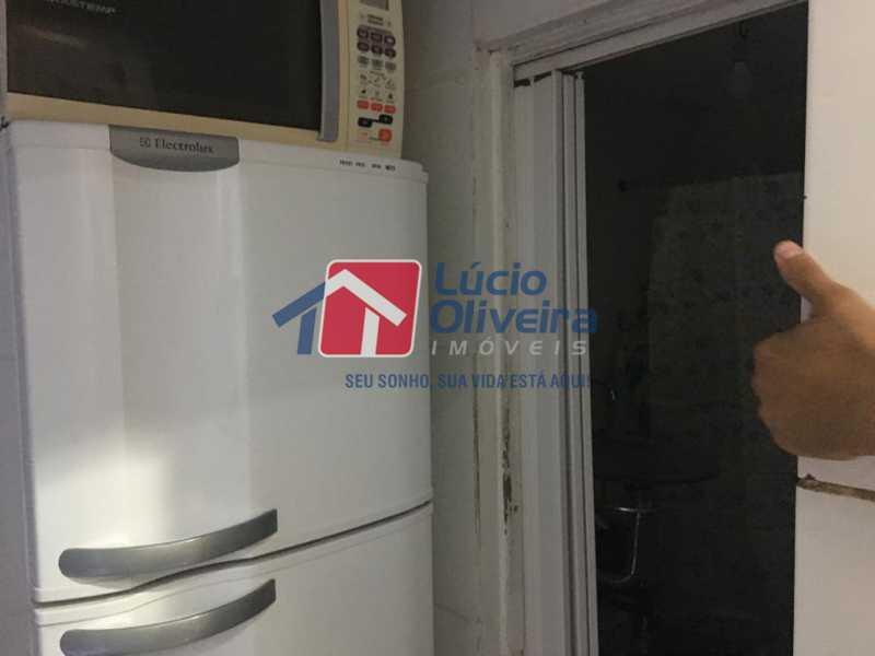 11 cozinha - Casa de Vila Olaria, Rio de Janeiro, RJ À Venda, 1 Quarto, 45m² - VPCV10028 - 12