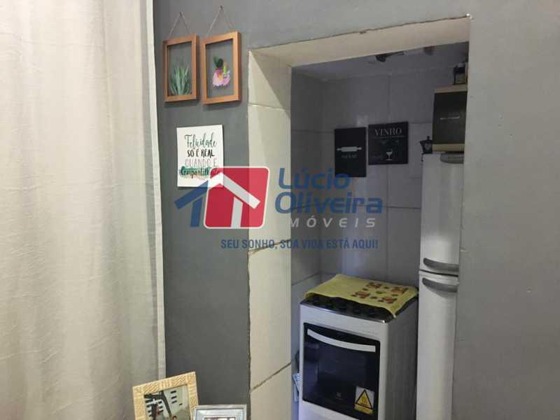 13 cozinha - Casa de Vila Olaria, Rio de Janeiro, RJ À Venda, 1 Quarto, 45m² - VPCV10028 - 14