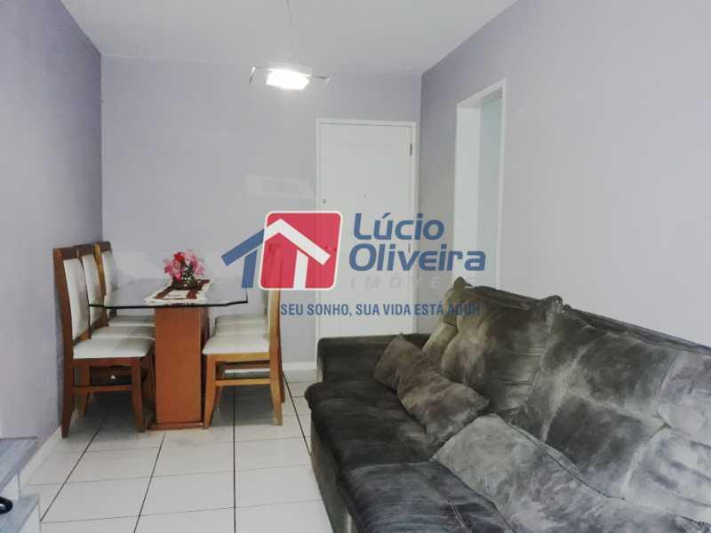 2- Sala 2 ambientes - Apartamento À Venda - Vila da Penha - Rio de Janeiro - RJ - VPAP21130 - 3