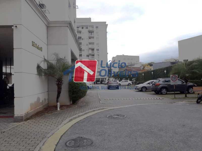 18- Garagem parqueamento - Apartamento À Venda - Vila da Penha - Rio de Janeiro - RJ - VPAP21130 - 20
