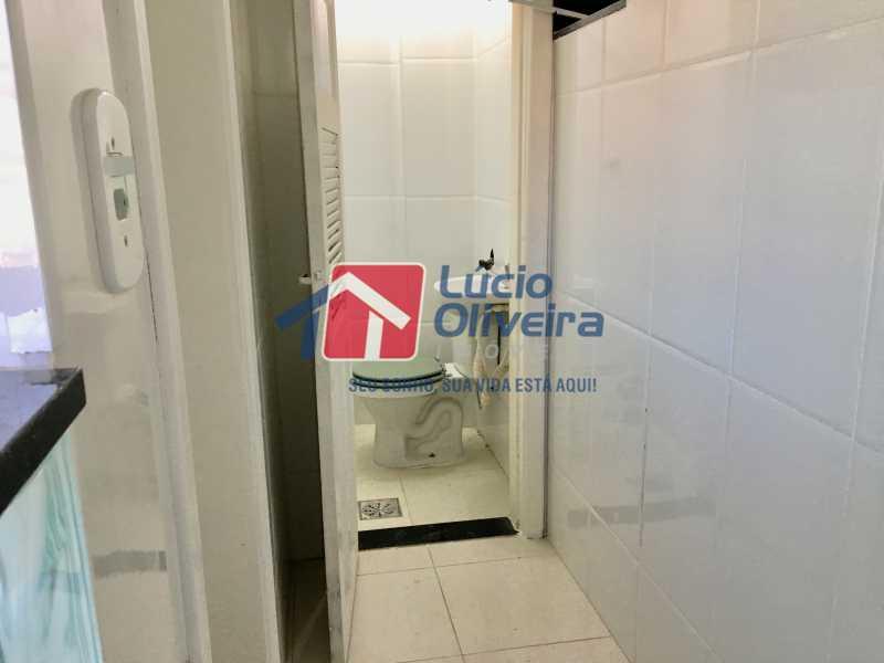 17 banheiro de empregada. - Apartamento à venda Rua Tomás Lópes,Vila da Penha, Rio de Janeiro - R$ 360.000 - VPAP21132 - 18