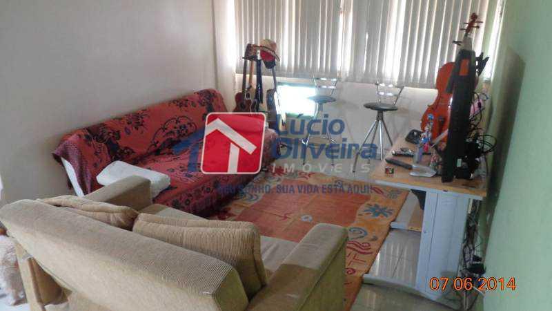 1-Sala 2 ambientes - Apartamento Travessa Sousa Andrade,Cascadura,Rio de Janeiro,RJ À Venda,2 Quartos,60m² - VPAP21136 - 1