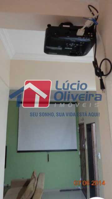 4-Sala com projetfilmes - Apartamento Travessa Sousa Andrade,Cascadura,Rio de Janeiro,RJ À Venda,2 Quartos,60m² - VPAP21136 - 5
