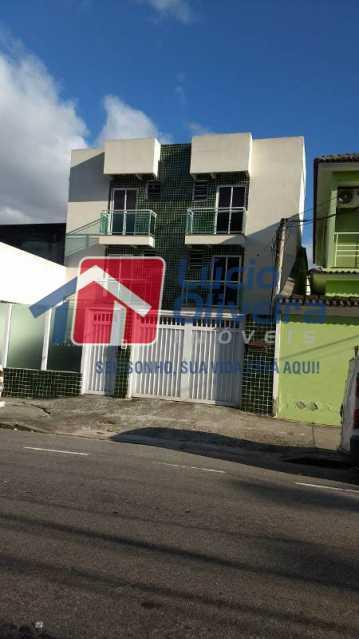 1- Frente - Apartamento À Venda - Cascadura - Rio de Janeiro - RJ - VPAP21137 - 1