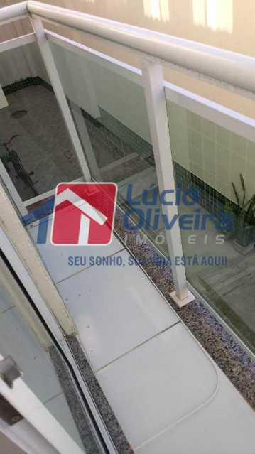 3-Varanda... - Apartamento À Venda - Cascadura - Rio de Janeiro - RJ - VPAP21137 - 4