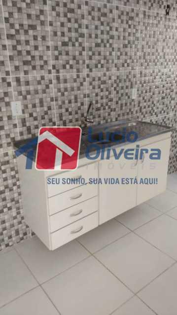 14-cozinha armario - Apartamento À Venda - Cascadura - Rio de Janeiro - RJ - VPAP21137 - 14