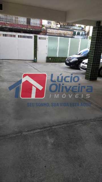 19-entrada garagem - Apartamento À Venda - Cascadura - Rio de Janeiro - RJ - VPAP21137 - 19