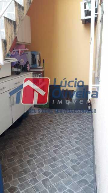 11-Area Externa frente - Casa à venda Rua José Machado,Irajá, Rio de Janeiro - R$ 190.000 - VPCA20221 - 13