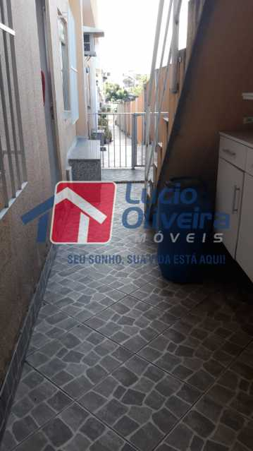 12-Area servidão vila - Casa à venda Rua José Machado,Irajá, Rio de Janeiro - R$ 190.000 - VPCA20221 - 14
