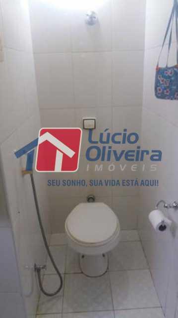 12 BANHEIRO. - Apartamento à venda Rua General Argolo,São Cristóvão, Rio de Janeiro - R$ 260.000 - VPAP30273 - 13