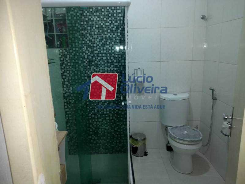 16-Banheiro social blindex - Apartamento À Venda - Penha - Rio de Janeiro - RJ - VPAP21140 - 17