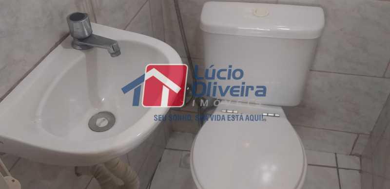 17 - W.C. Empregada - Apartamento à venda Rua Padre Manso,Madureira, Rio de Janeiro - R$ 245.000 - VPAP21143 - 18
