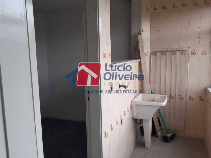 Area de Serviço. - Apartamento À Venda - Irajá - Rio de Janeiro - RJ - VPAP21151 - 22
