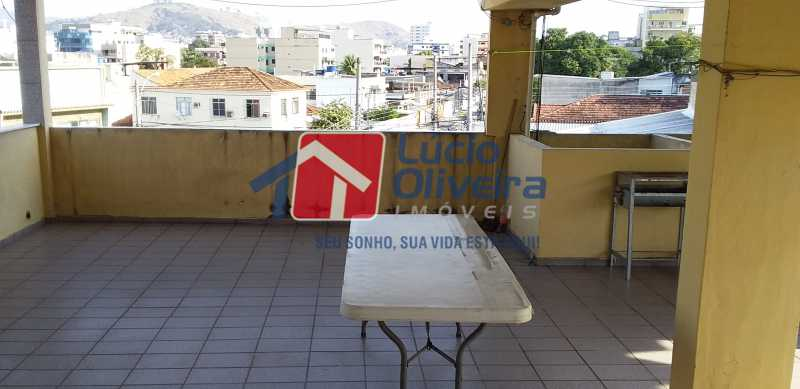 41 - Terraço - Casa À Venda - Vista Alegre - Rio de Janeiro - RJ - VPCA30152 - 29
