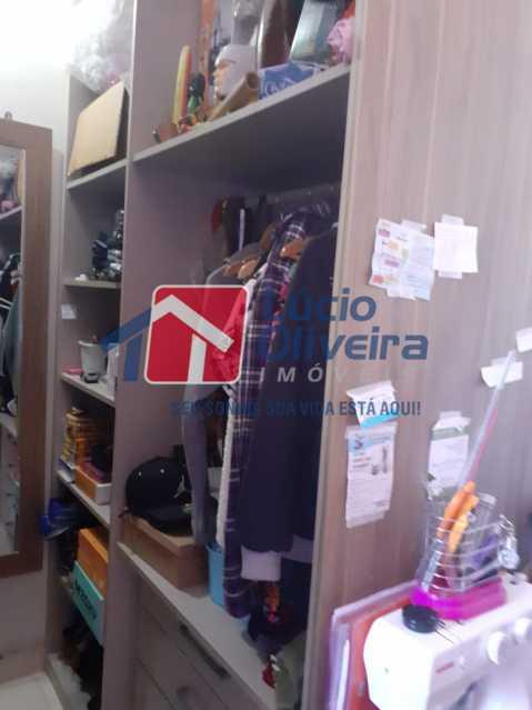 7 CLOSET. - Apartamento à venda Rua Valter Seder,Vista Alegre, Rio de Janeiro - R$ 370.000 - VPAP21152 - 8