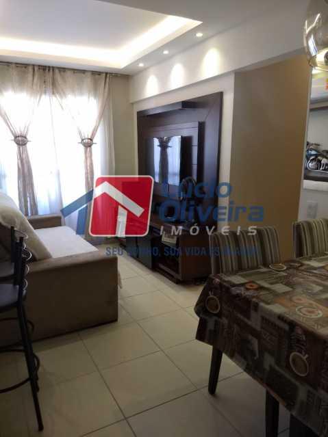 01 - Sala. - Apartamento À Venda - Del Castilho - Rio de Janeiro - RJ - VPAP30276 - 1