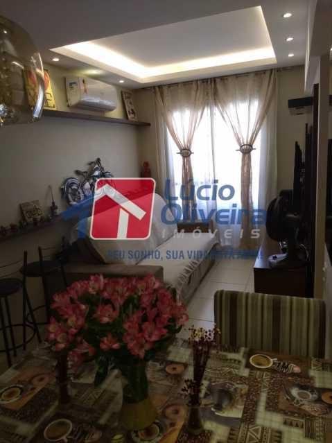 02- Sala. - Apartamento À Venda - Del Castilho - Rio de Janeiro - RJ - VPAP30276 - 3