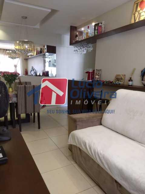 03- Sala. - Apartamento À Venda - Del Castilho - Rio de Janeiro - RJ - VPAP30276 - 4