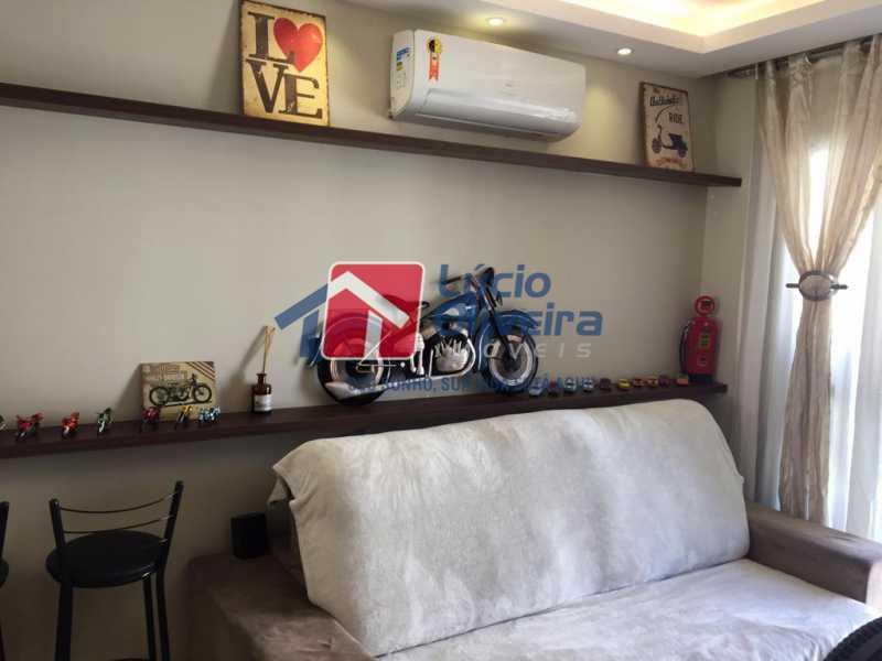 04- Sala. - Apartamento À Venda - Del Castilho - Rio de Janeiro - RJ - VPAP30276 - 5